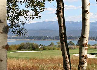 Osprey Meadows Golf Course in Donnelly, Idaho.