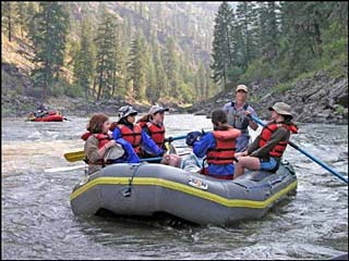 River Time Guide Service of Idaho in Salmon, Idaho.