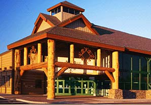 Manchester Ice and Event Centre in McCall, Idaho.