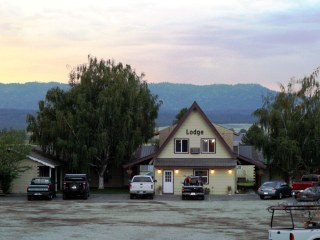 Birch Glen Lodge & Motel  in Cascade, Idaho.