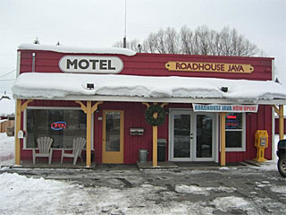 Meadows Valley Motel in New Meadows, Idaho.