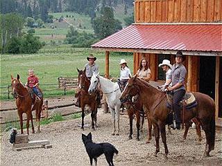 Garden Valley Trail Rides In Garden Valley, Idaho.