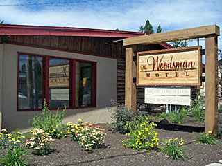 Rustic Inn (Woodsman) in McCall, Idaho.