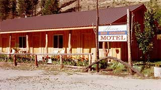 Haven Hot Springs in Lowman, Idaho.