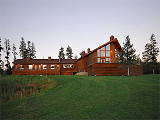 Bear Creek Lodge in McCall, Idaho.
