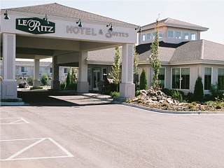 Le Ritz Hotel and Suites in Idaho Falls, Idaho.