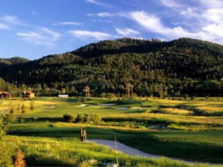 Headwaters Golf Club  in Victor, Idaho.