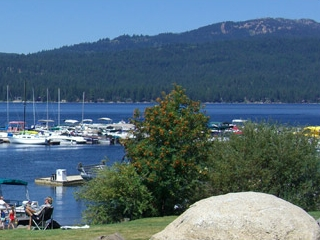 Mile High Marina in McCall, Idaho.