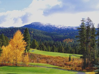 Jug Mountain Ranch Golf Course in McCall, Idaho.