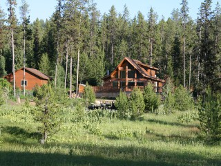 Bear Creek Cabin (Deluxe Family Cabin) in McCall, Idaho.