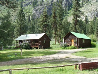 Sawtooth Lodge in Lowman, Idaho.