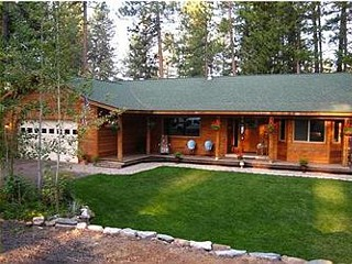 Camp Road Family Cabin in McCall, Idaho.