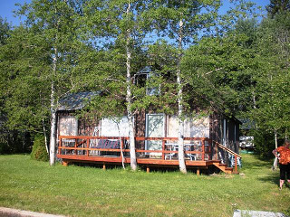 Beach Bungalow in McCall, Idaho.