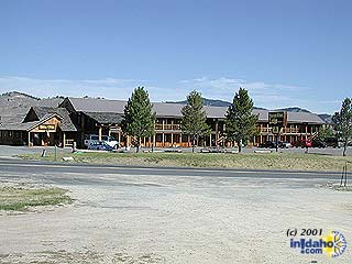 Mountain Village Resort in Stanley, Idaho.
