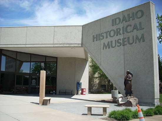 Idaho Historical Museum in Boise, Idaho.