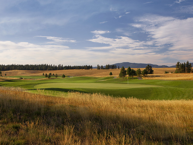 Circling Raven Golf Club in Coeur d Alene, Idaho.