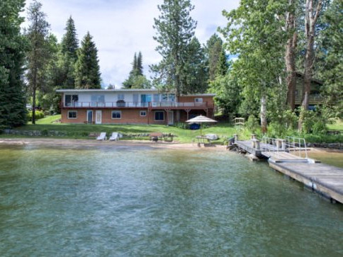 Downtown McCall Lakefront Estate in McCall, Idaho.
