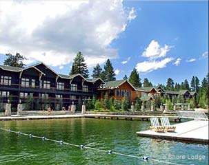 Shore Lodge in McCall, Idaho.