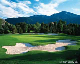 Sun Valley Golf Courses in Sun Valley, Idaho.