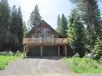 Fox Rock Cabin in McCall, Idaho.