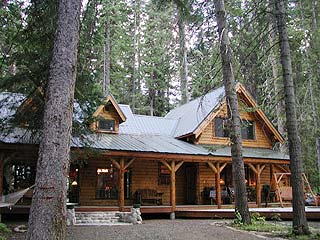 Broadbent Cabin in McCall, Idaho.