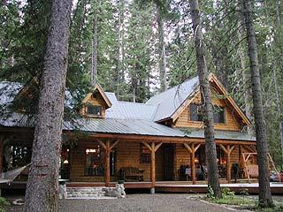 Broadbent Cabin In McCall, Idaho.
