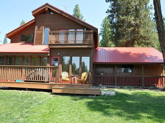 Cabin in the Pines in McCall, Idaho.