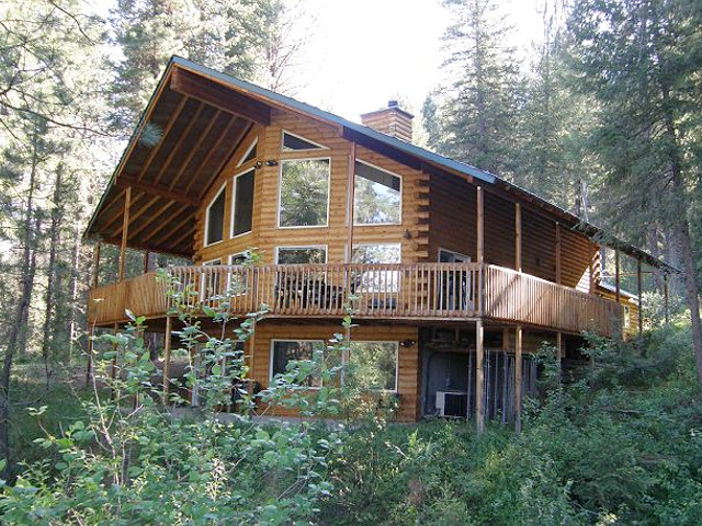 Middle Fork River Cabin in Garden Valley, Idaho.