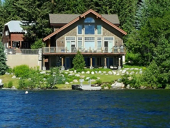 Lakeside Bliss in McCall, Idaho.