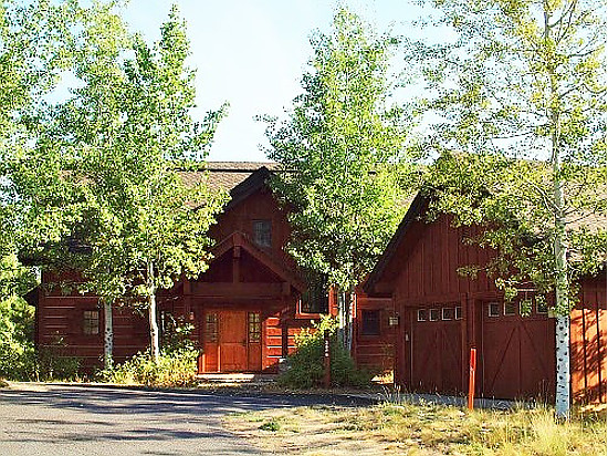 Tamarack Mountain Chalet in Donnelly, Idaho.
