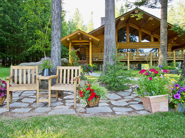 Western Pleasure Guest Ranch in Sandpoint, Idaho.