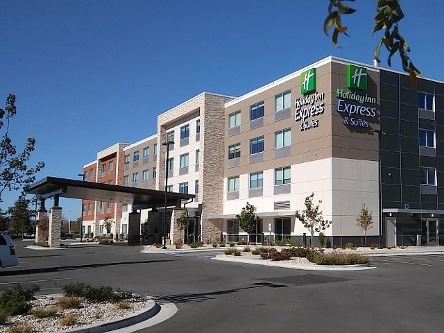 Holiday Inn Express & Suites Boise Airport in Boise, Idaho.