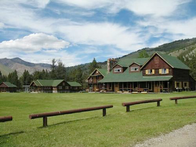 Diamond D Ranch in Stanley, Idaho.