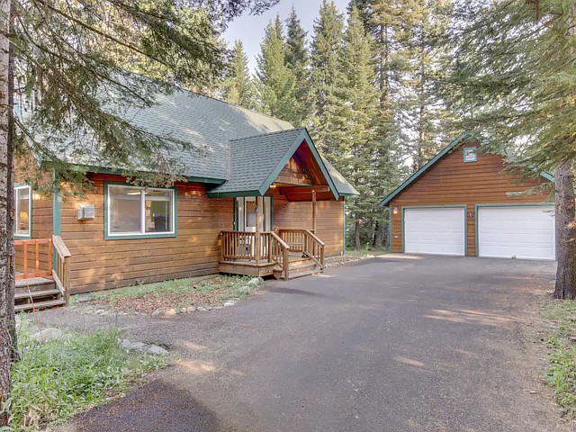 Spring Mountain Cabin in McCall, Idaho.