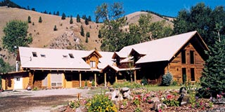 100 Acre Wood Lodge in Salmon, Idaho.