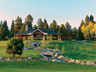 Whitetail Club Golf Course in McCall, Idaho.