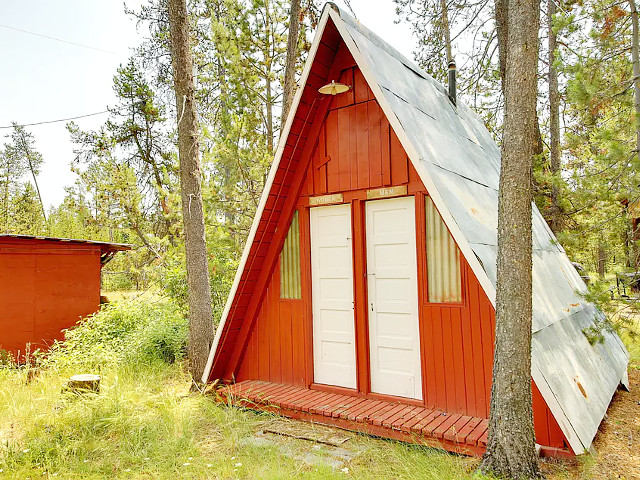Mamas A Frame Donnelly Idaho Vacation Cabin Rental 1 800