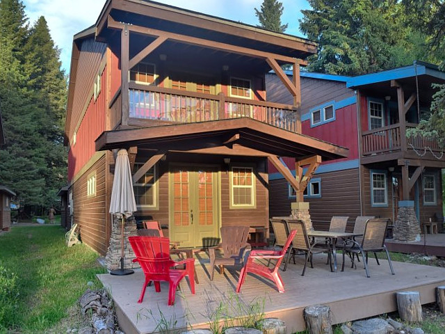 Headquarter House in McCall, Idaho.