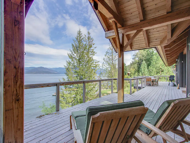 Bottle Bay Lakefront Lodge in Sandpoint, Idaho.
