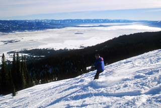 Trail Map Skier Snowboarding