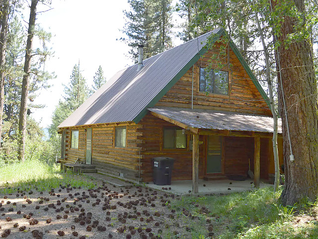 Totorica Cabin in McCall, Idaho.
