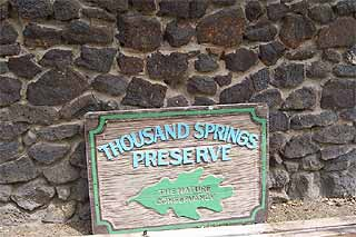 Thousand Springs Preserve in Hagerman, Idaho.