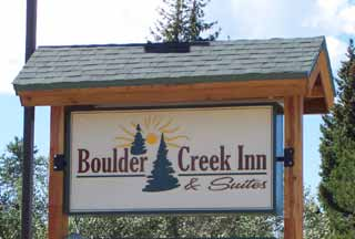 Boulder Creek Inn in Donnelly, Idaho.