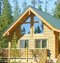 The Pines at Island Park - 2 Bedroom Cabins in Island Park, Idaho.