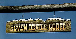 Seven Devils Lodge in Council, Idaho.