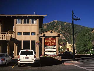 Tamarack Lodge in Sun Valley, Idaho.