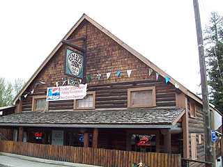 Timber Inn in Pierce, Idaho.