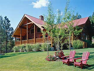 Wapiti Meadow Ranch-Mill Pond Suites in Cascade, Idaho.