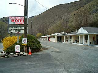 Salmon River Motel in Riggins, Idaho.