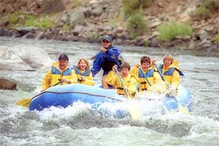 White Cloud Rafting Adventures in Stanley, Idaho.